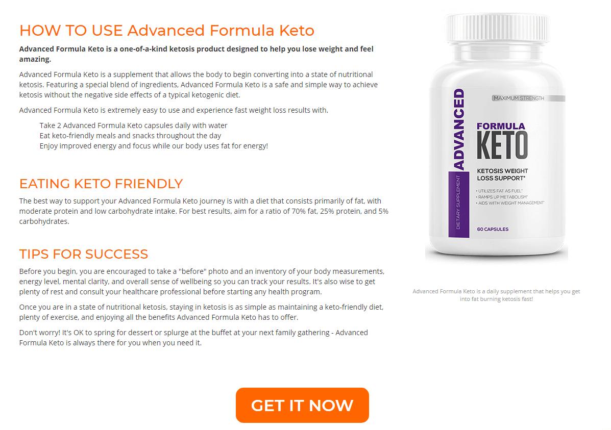 Advanced Formula Keto