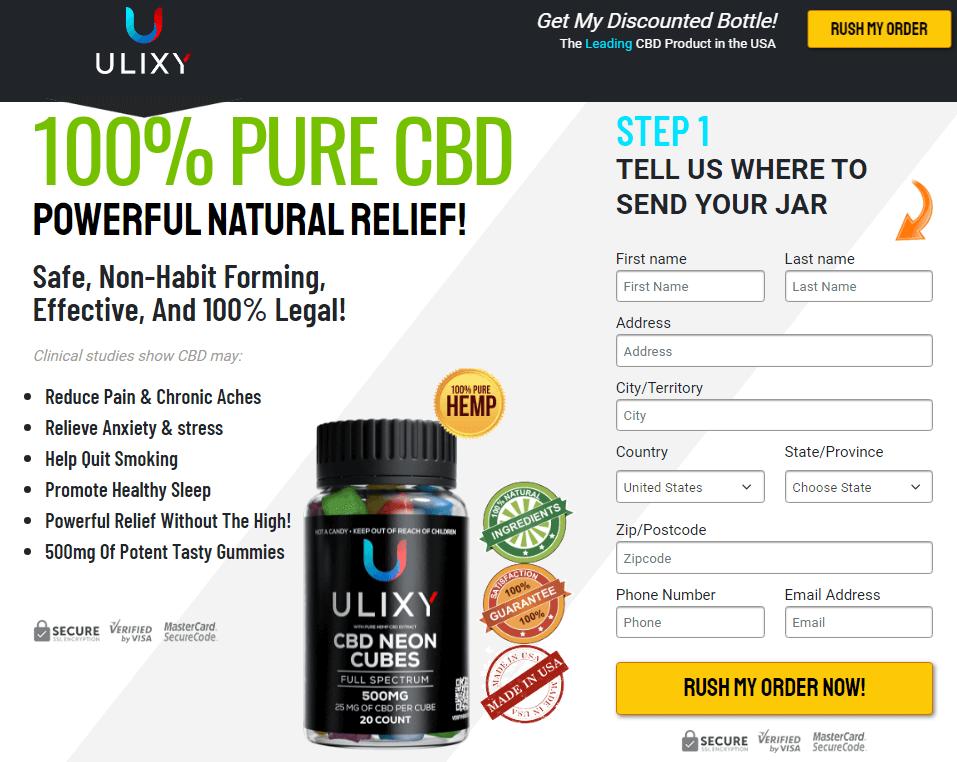Ulixy CBD Gummies
